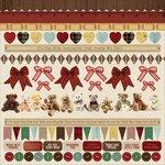 Kaisercraft - Teddy Bears Picnic Collection - 12 x 12 Sticker Sheet