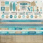 Kaisercraft - Sandy Toes Collection - 12 x 12 Sticker Sheet