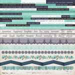 Kaisercraft - Blue Bay Collection - 12 x 12 Sticker Sheet