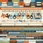 Kaisercraft - Wanderlust Collection - 12 x 12 Sticker Sheet