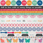 Kaisercraft - Chase Rainbows Collection - 12 x 12 Sticker Sheet