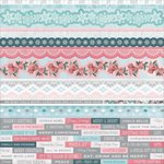Kaisercraft - Silver Bells Collection - Christmas - 12 x 12 Sticker Sheet