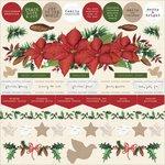 Kaisercraft - Home for Christmas Collection - 12 x 12 Sticker Sheet