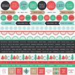 Kaisercraft - Holly Jolly Collection - Christmas - 12 x 12 Sticker Sheet