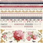 Kaisercraft - Ma Cherie Collection - 12 x 12 Sticker Sheet