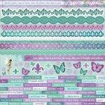 Kaisercraft - Fairy Dust Collection - 12 x 12 Sticker Sheet