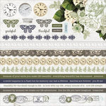 Kaisercraft - Provincial Collection - 12 x 12 Sticker Sheet