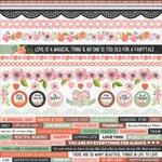Kaisercraft - True Love Collection - 12 x 12 Sticker Sheet