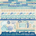 Kaisercraft - Coastal Escape Collection - 12 x 12 Sticker Sheet