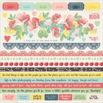 Kaisercraft - Finders Keepers Collection - 12 x 12 Sticker Sheet