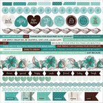 Kaisercraft - Sea Breeze Collection - 12 x 12 Sticker Sheet