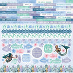 Kaisercraft - Mermaid Tails Collection - 12 x 12 Sticker Sheet