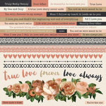 Kaisercraft - Always and Forever Collection - 12 x 12 Sticker Sheet