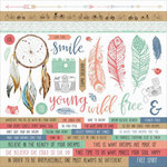 Kaisercraft - Boho Dreams Collection - 12 x 12 Sticker Sheet