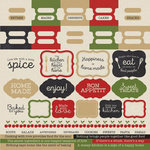 Kaisercraft - Bon Appetit Collection - 12 x 12 Sticker Sheet