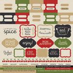 Kaisercraft - Bon Appetit Collection - 12 x 12 Sticker Sheet