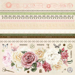 Kaisercraft - Mademoiselle Collection - 12 x 12 Sticker Sheet