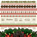 Kaisercraft - Silent Night Collection - Christmas - 12 x 12 Sticker Sheet