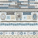 Kaisercraft - Frosted Collection - Christmas - 12 x 12 Sticker Sheet