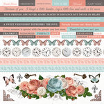 Kaisercraft - Ooh La La Collection - 12 x 12 Sticker Sheet