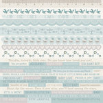 Kaisercraft - Peek-A-Boo Collection - 12 x 12 Sticker Sheet - Boy
