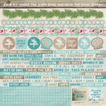 Kaisercraft - Island Escape Collection - 12 x 12 Sticker Sheet