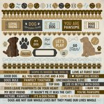 Kaisercraft - Pawfect Collection - 12 x 12 Sticker Sheet - Dog