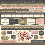 Kaisercraft - Keepsake Collection - 12 x 12 Sticker Sheet
