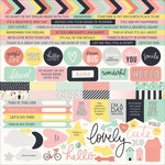 Kaisercraft - Daydreamer Collection - 12 x 12 Sticker Sheet