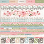 Kaisercraft - Rose Avenue Collection - 12 x 12 Sticker Sheet