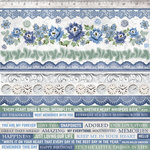 Kaisercraft - Wandering Ivy Collection - 12 x 12 Sticker Sheet