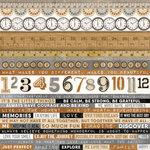 Kaisercraft - Documented Collection - 12 x 12 Sticker Sheet