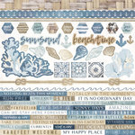 Kaisercraft - Beach Shack Collection - 12 x 12 Sticker Sheet