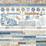 Kaisercraft - Beach Shack Collection - 12 x 12 Sticker Sheet