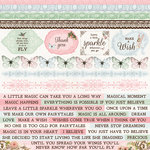 Kaisercraft - Fairy Garden Collection - 12 x 12 Sticker Sheet