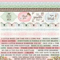 Kaisercraft - Fairy Garden Collection - 12 x 12 Sticker Sheet