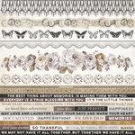 Kaisercraft - Pen and Ink Collection - 12 x 12 Sticker Sheet
