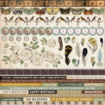 Kaisercraft - Anthology Collection - 12 x 12 Sticker Sheet