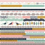 Kaisercraft - Hide and Seek Collection - 12 x 12 Sticker Sheet