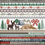 Kaisercraft - Mountain Air Collection - 12 x 12 Sticker Sheet