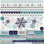 Kaisercraft - Wonderland Collection - Christmas - 12 x 12 Sticker Sheet