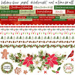 Kaisercraft - Peace and Joy Collection - Christmas - 12 x 12 Sticker Sheet