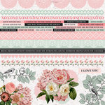 Kaisercraft - Everlasting Collection - 12 x 12 Sticker Sheet