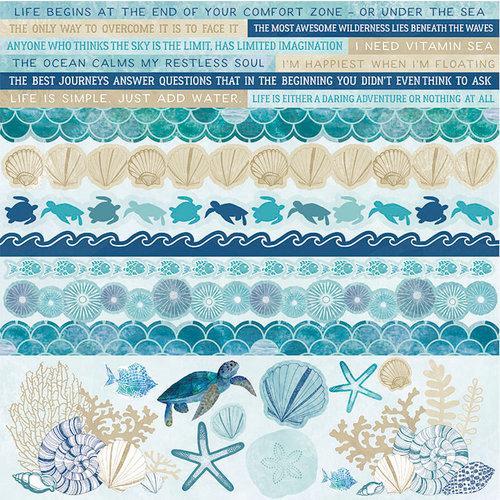 Kaisercraft - Deep Sea Collection - 12 x 12 Sticker Sheet