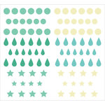 Kaisercraft - Epoxy Stickers - Sea Breeze