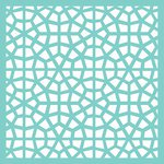 Kaisercraft - 12 x 12 Stencils Template - Stained Glass