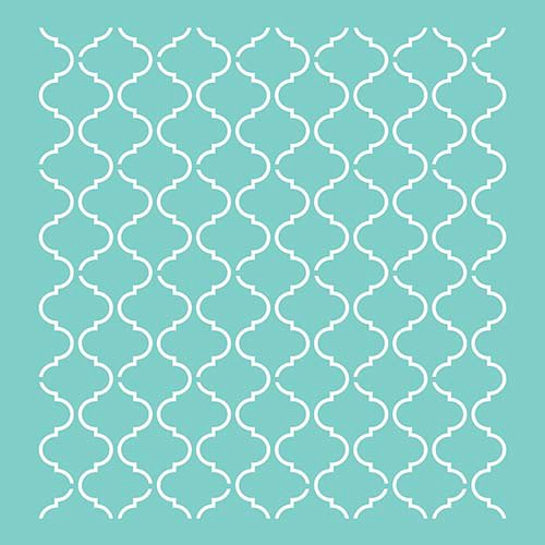 Kaisercraft Lattice 12 x 12 Stencils Template