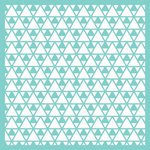 Kaisercraft - 12 x 12 Stencils Template - Triangles