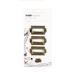 Kaisercraft - Kaisertreasures - Metal Bookplates - Brass