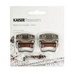 Kaisercraft - Kaisertreasures - Metal Case Handles - Silver